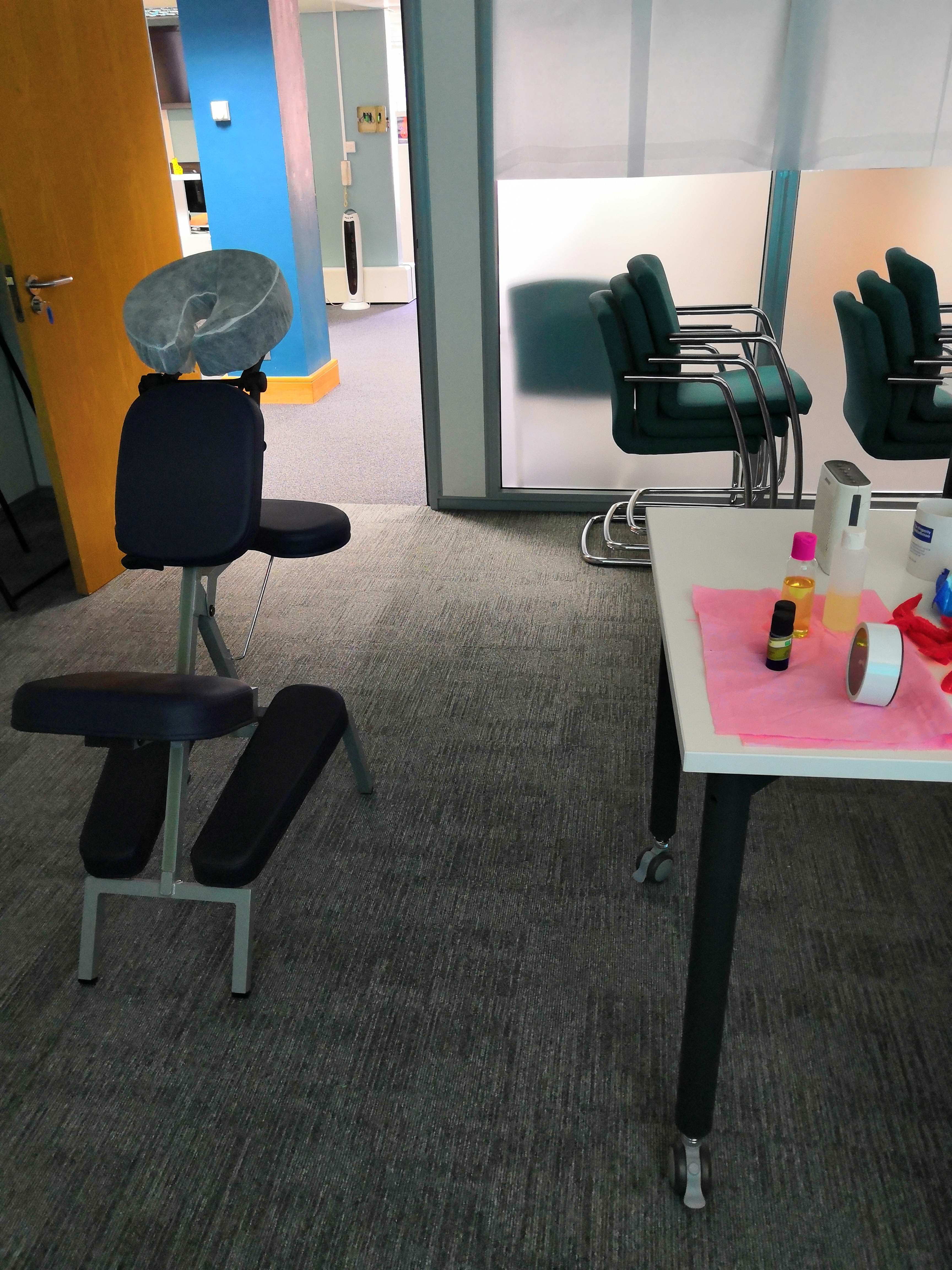 massage therapy at your workplace